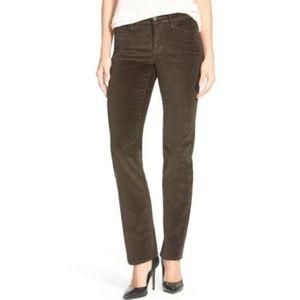 NYDJ Jean Marilyn Straight Leg Corduroy Pants